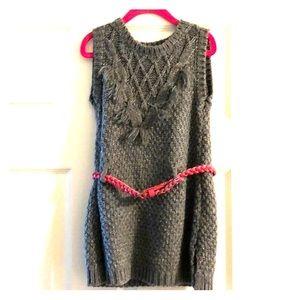Girls Grey Sweater